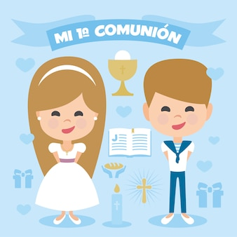 First communion elements collection