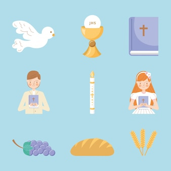 First communion icons