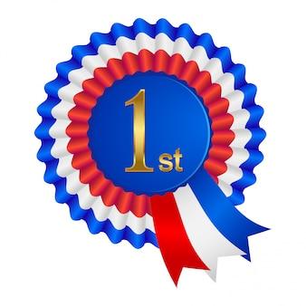 First place winner emblem