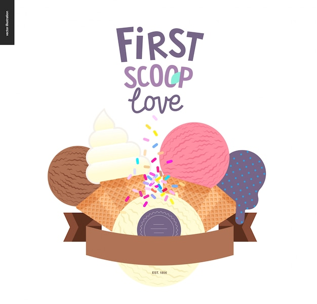 First scoop love