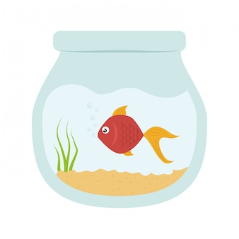 Fish clip-art image