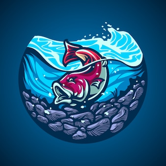 Fish handdrawn illustration