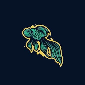 Fish mascot