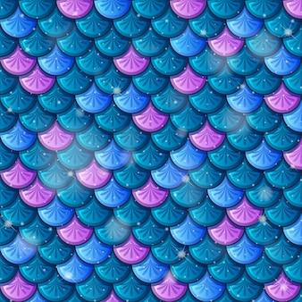 Рыбья чешуя бесшовный фон фон