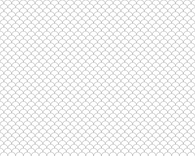 Fish scales seamless pattern background