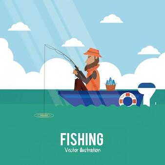 Fishing graphic