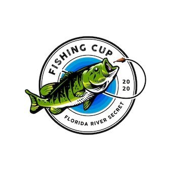 Fishing logo  for mascot