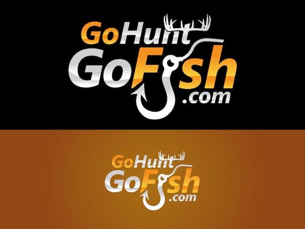 Fishing website logo design
