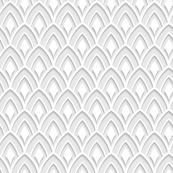 Fishscale seamless pattern. vector illustration
