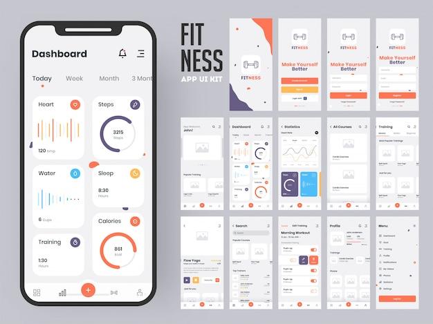 Фитнес-приложение.