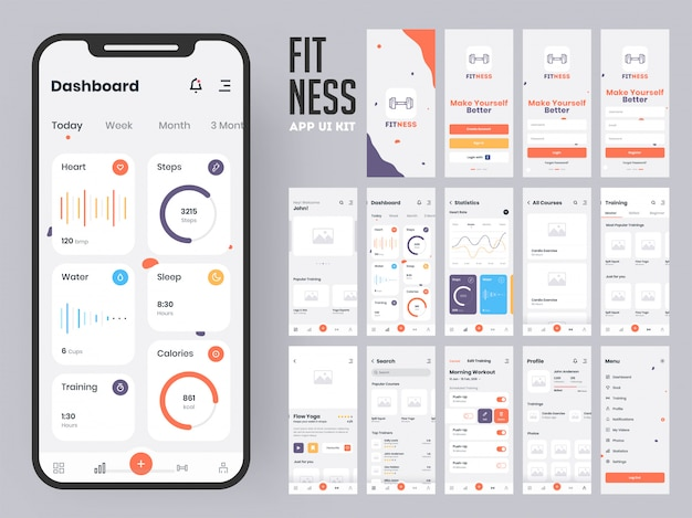 Fitness app.