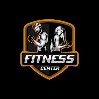 Логотип фитнес-центра