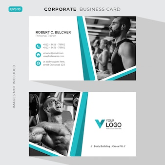 Fitness corporate card