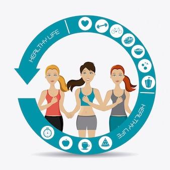 Fitness design.