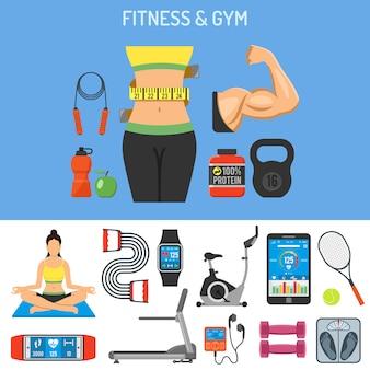 Fitness & gym concept