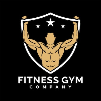 Fitness gym logo design inspiration