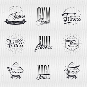 Fitness insignia