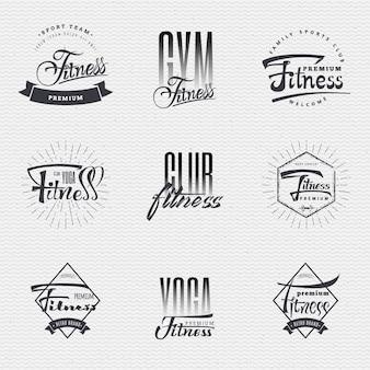 Fitness insignia