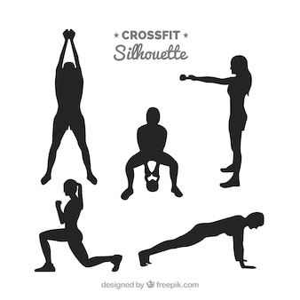 Fitness silhouettes collection