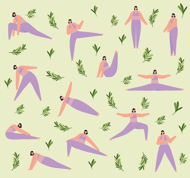 Фитнес женский образец