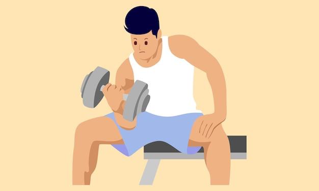피트니스 운동 체육관