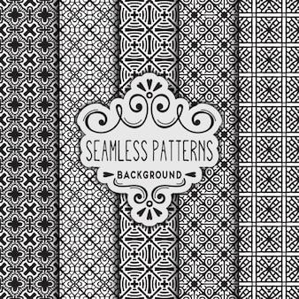 5 가지 흑백 패턴
