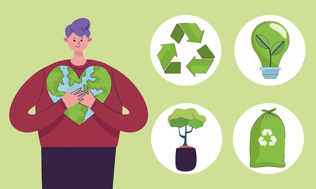 Пять иконок экологии