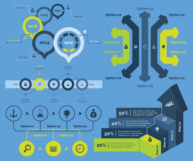Пять шаблонов графических диаграмм финансов