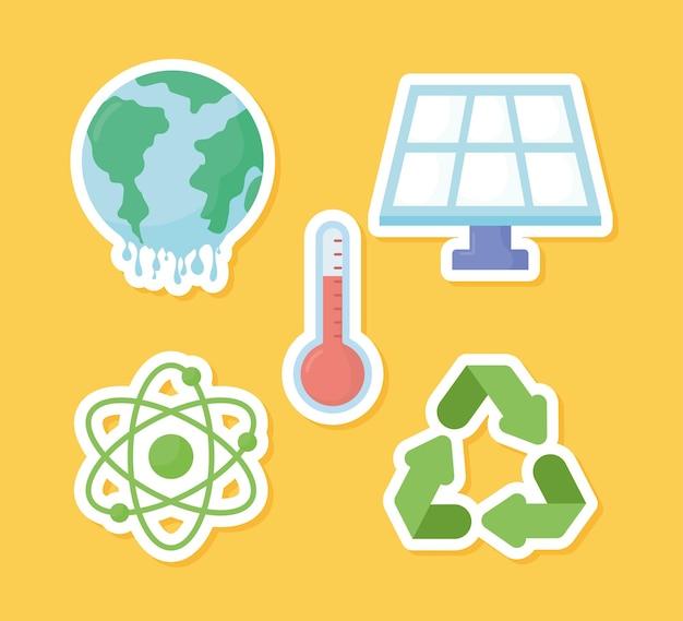 5가지 지구온난화 아이템