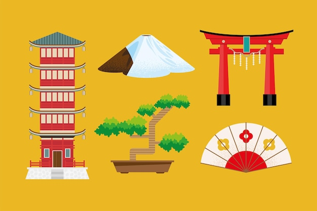 5 일본 문화 아이콘