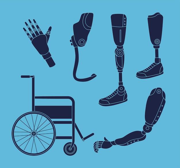 Пять силуэтов имплантатов протезирования