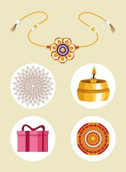 Пять икон ракша-бандхана