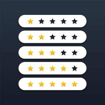 Five stars rating review