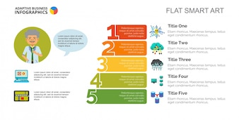 Five Steps IT Technologies Slide Template