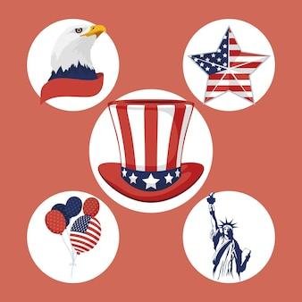 Five usa independence set items