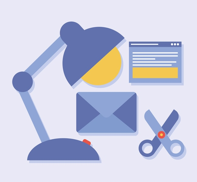 Five web design icons