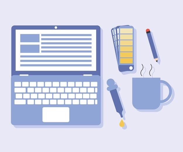 Five web design items