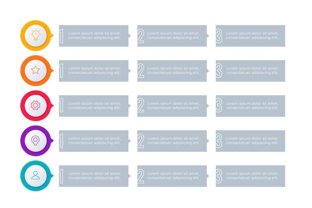5 가지 이유 인포 그래픽