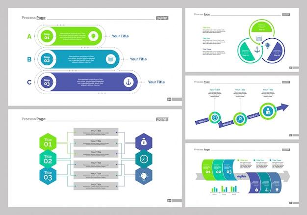 Набор шаблонов слайдов рабочего процесса