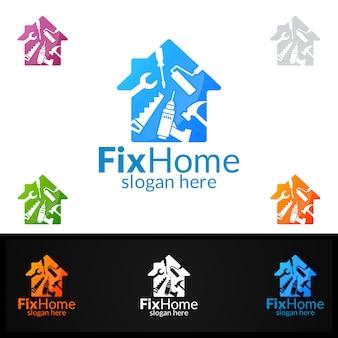 Логотип fix home
