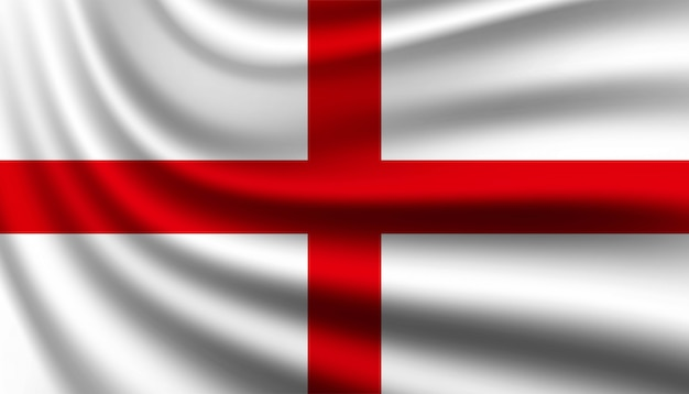 Flag of england background template.