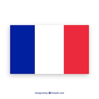 Flag of france background