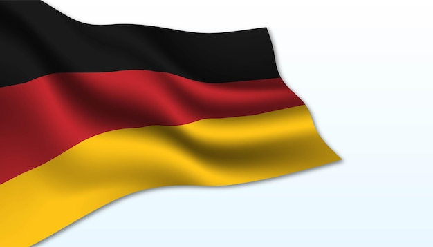 Flag of germany background.