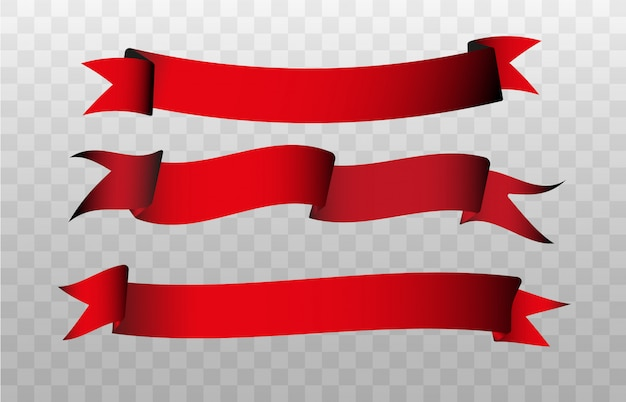 白い背景で隔離の旗イラスト。