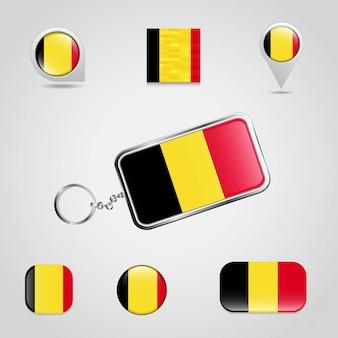 Дизайн флага для ключей