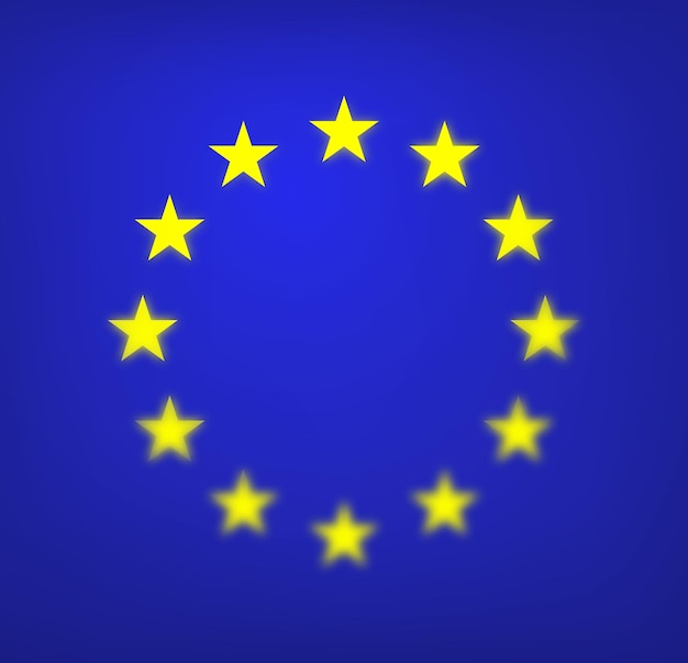 유럽 연합 eu의 국기