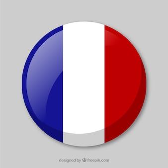 프랑스 배경의 국기
