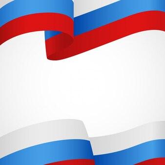 Флаг россии на белом