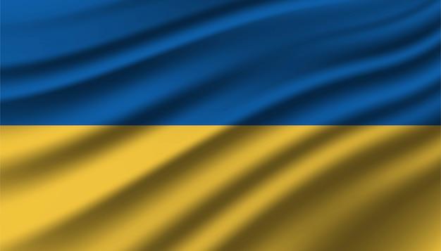 Флаг украины фон шаблона.