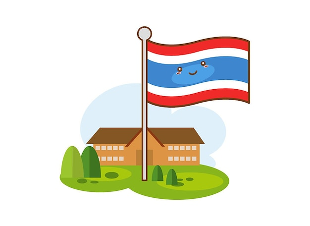 Flags of thailand icon